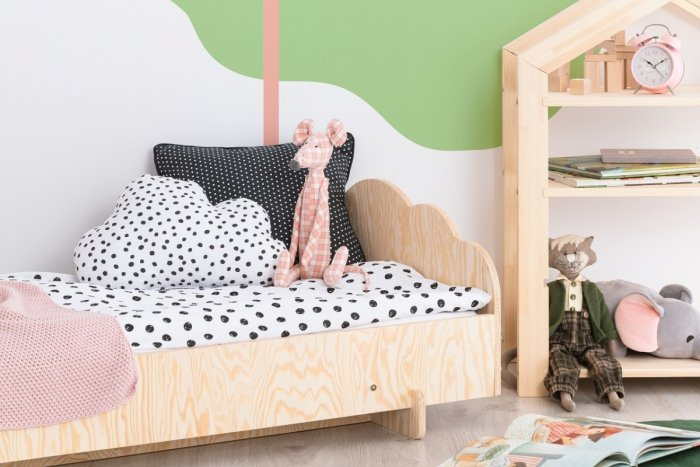 KIKI 7  70x160cm Łóżko dziecięce domek ADEKO