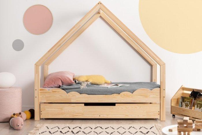 Loca D 100x190cm Łóżko dziecięce drewniane ADEKO