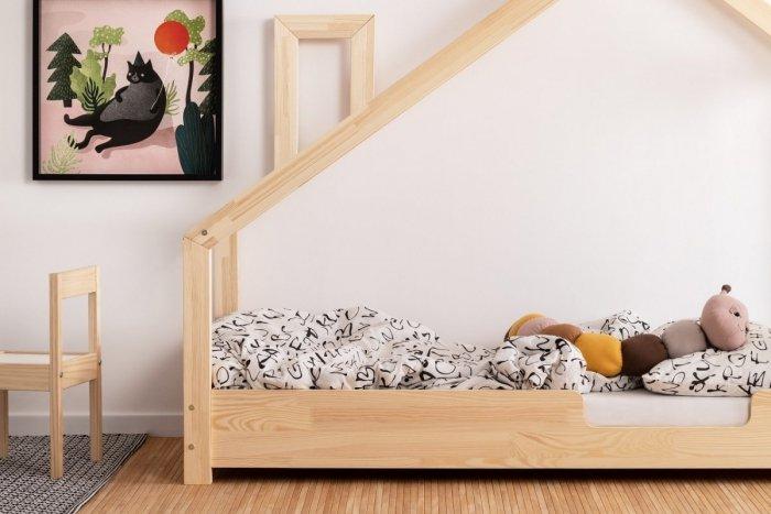 Luna C 90x160cm Łóżko dziecięce domek ADEKO
