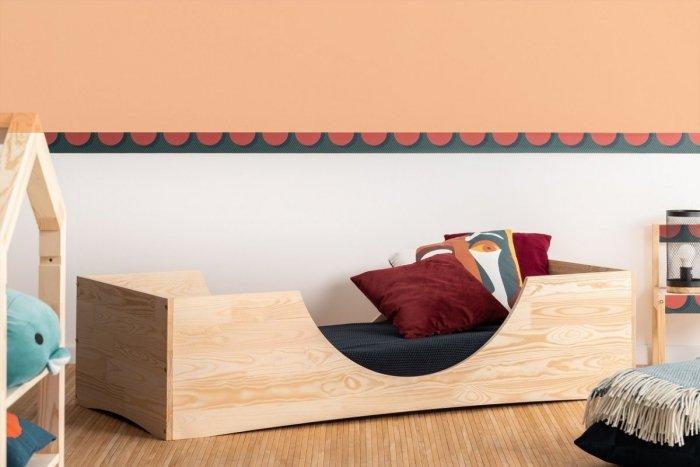 PEPE 2 100x180cm Łóżko drewniane dziecięce