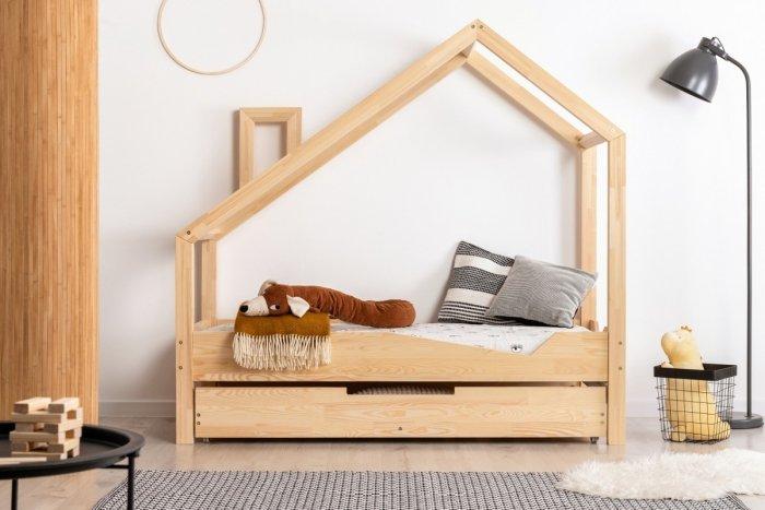 Luna A 90x160cm Łóżko dziecięce domek ADEKO