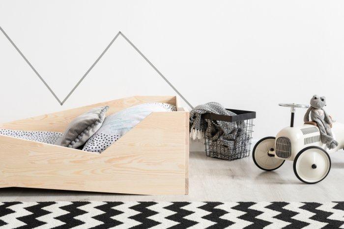 BOX 5 100x170cm Łóżko drewniane dziecięce