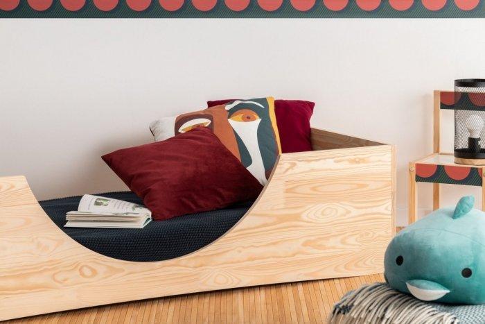 PEPE 2 70x160cm Łóżko drewniane dziecięce