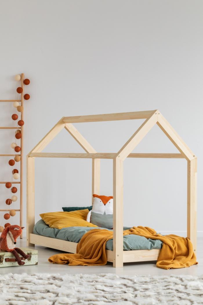 M 80x180cm Łóżko dziecięce domek Mila ADEKO
