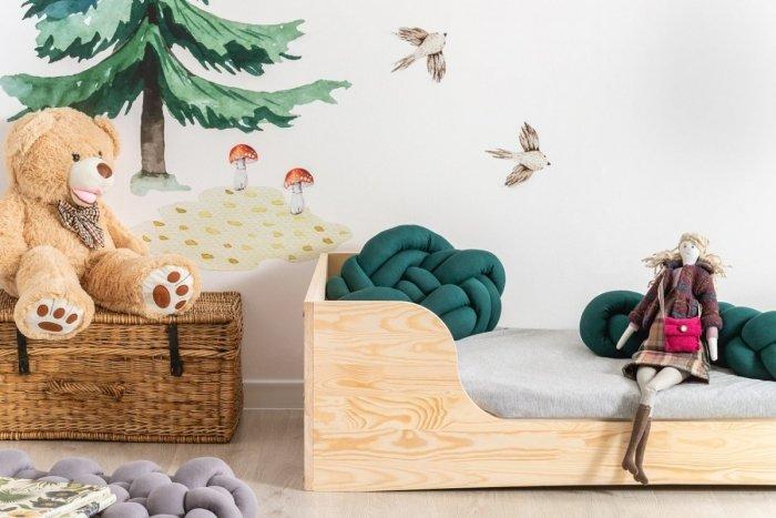 PEPE 6 80x200cm Łóżko drewniane dziecięce