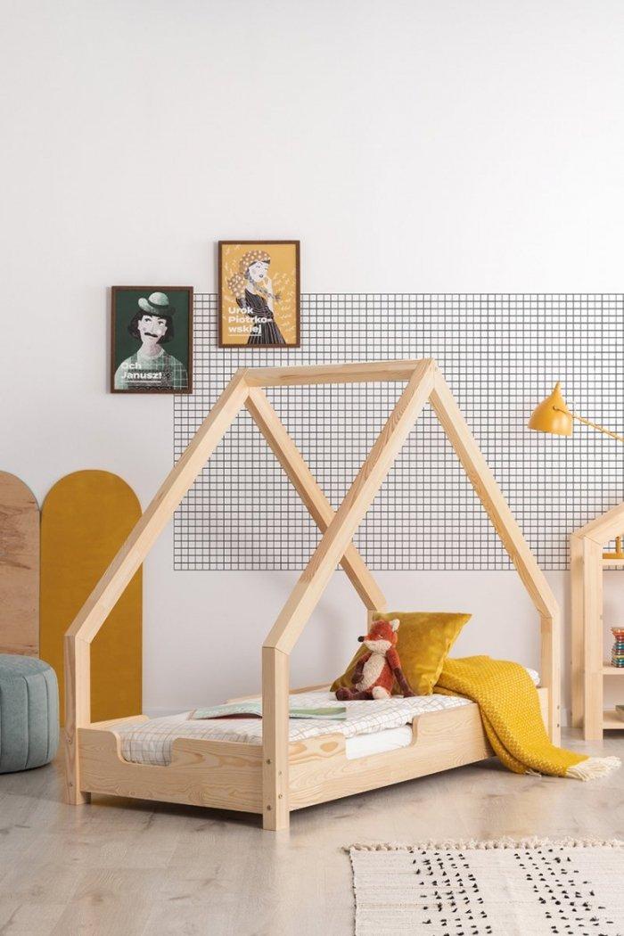 Loca C 80x180cm Łóżko dziecięce drewniane ADEKO