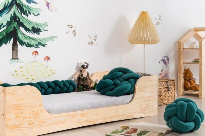 PEPE 6 100x180cm Łóżko drewniane dziecięce
