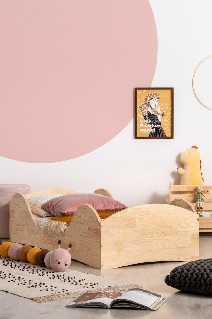 PEPE 1 80x190cm Łóżko drewniane dziecięce