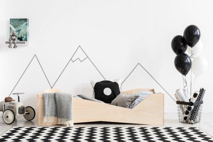BOX 5 80x170cm Łóżko drewniane dziecięce