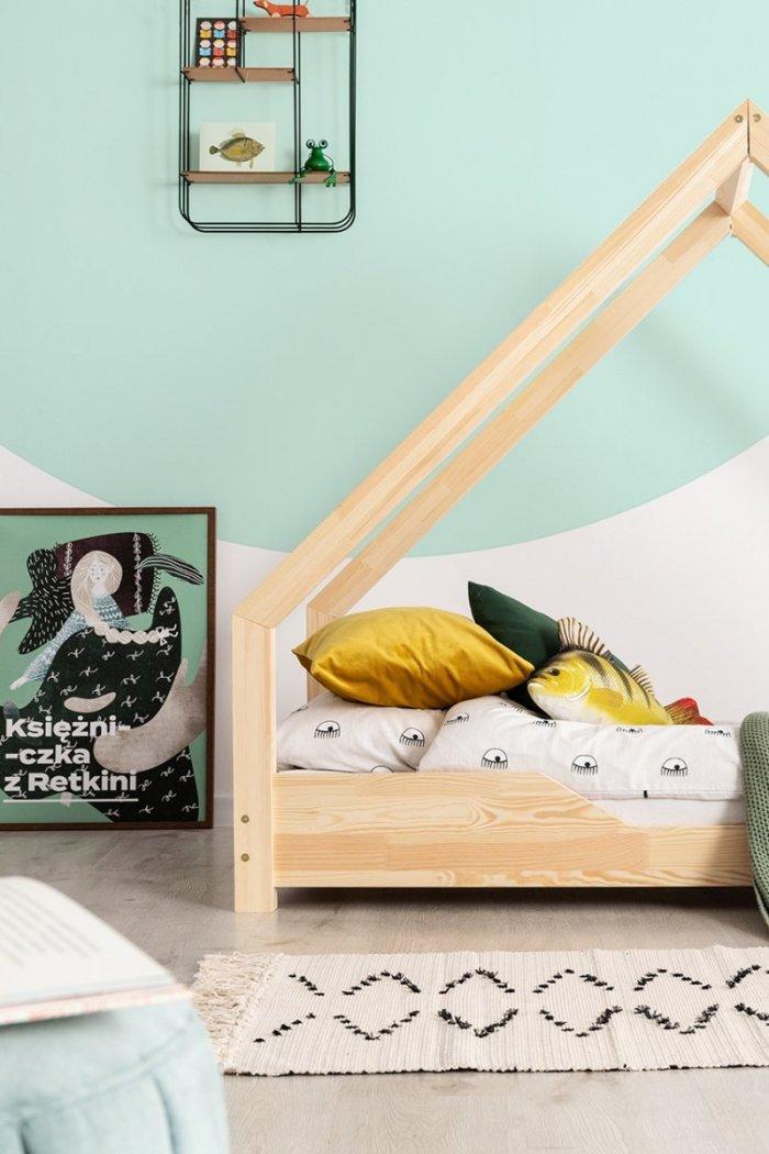 Loca B 80x140cm Łóżko dziecięce drewniane ADEKO