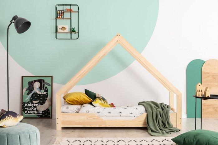 Loca B 80x160cm Łóżko dziecięce drewniane ADEKO