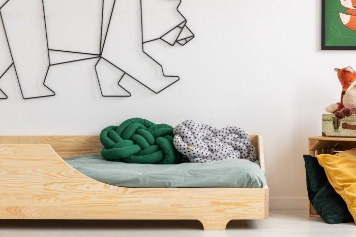 BOX 4 80x140cm Łóżko drewniane dziecięce