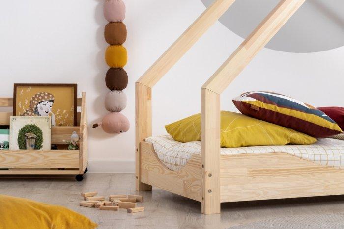 Loca E 80x200cm Łóżko dziecięce drewniane ADEKO