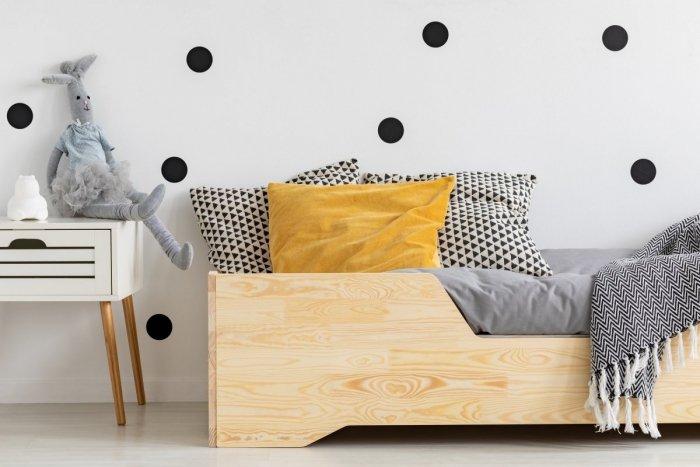 BOX 1 90x170cm Łóżko drewniane dziecięce