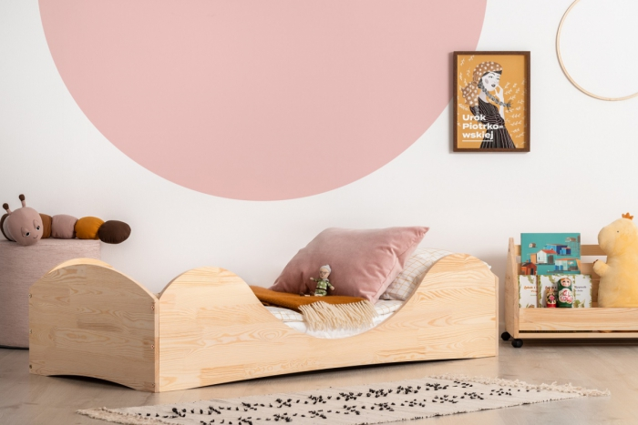 PEPE 1 70x140cm Łóżko drewniane dziecięce