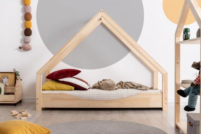 Loca E 90x140cm Łóżko dziecięce drewniane ADEKO