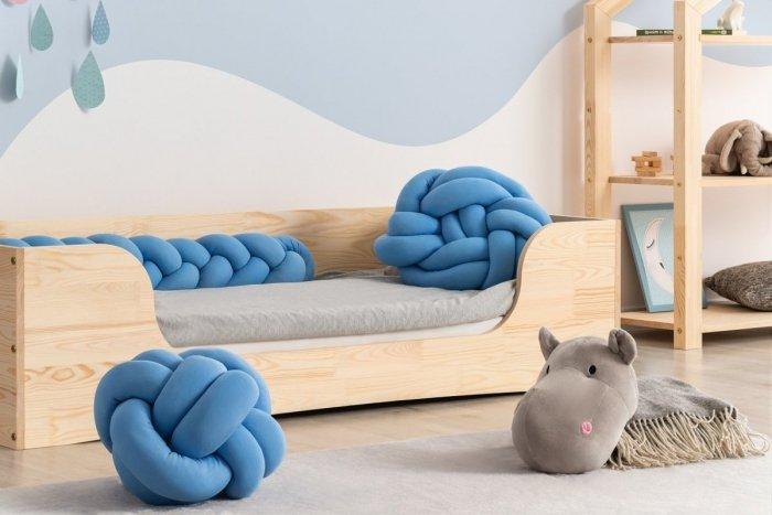 PEPE 4 80x190cm Łóżko drewniane dziecięce