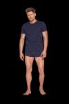 Henderson Bosco 18731 59x Granatowa koszulka męska