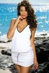 Sukienka plażowa Marko Elsa Bianco M-313 Biała (287)