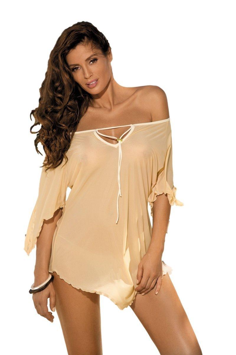 a082721535 Tunika plażowa Marko Lily M-339 Nudo - Sukienki plażowe - Kostiumy ...