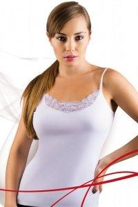 Emili Tosia plus biały koszulka
