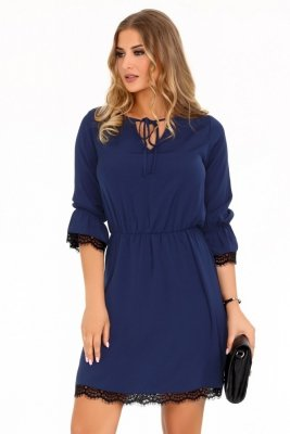 Merribel Shanice Dark Blue sukienka