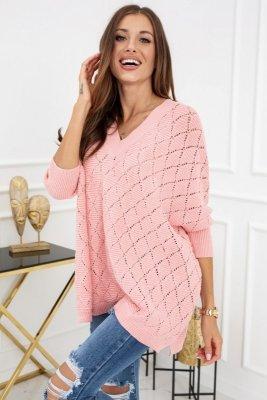 Vittoria Ventini Vienna Pastel Pink YQ397 sweter damski