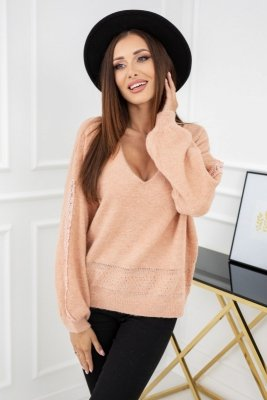Vittoria Ventini Leila Powder Pink CH300 sweter damski