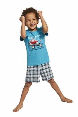 Cornette 789/80 Car Transporter piżama chłopięca