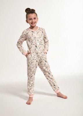 Cornette Kids Girl 105/119 Polar Bear 2 86-128 kombinezon- piżama dziewczęca