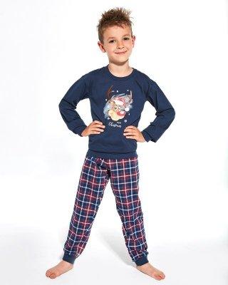 Cornette Kids Boy 593/113 Reindeer 86-128 piżama chłopięca
