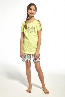Cornette 242/61 young wow seledyn piżama dziewczęca