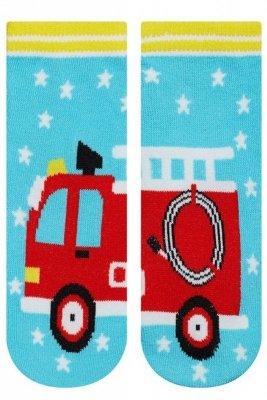 Soxo 9443 Straż Pożarna skarpetki dziecięce