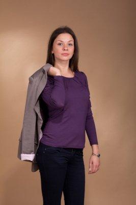 Lookat Yasmine 3028 jeżyna bluzka damska