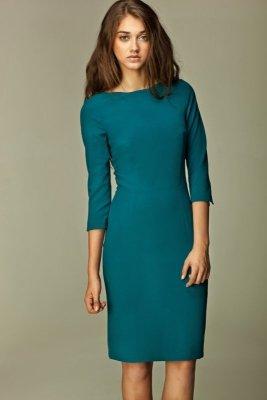 Nife Veronique s30 lazurowa sukienka