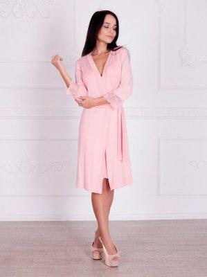 Roksana Penelope 274 Light Pink (Jasnoróżowy) szlafrok damski