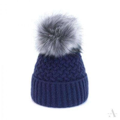art of polo Chic Granatowa czapka