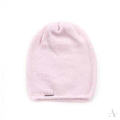 art of polo Romantyczna miękkość Różowa czapka