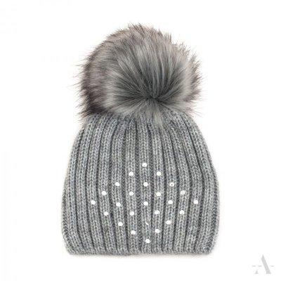 art of polo Śnieżynka Szara czapka