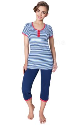 Wadima Amanda 104221 kr.ręk. spodnie 3/4 piżama damska