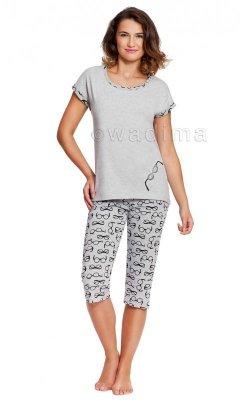Wadima Gisele 104369 kr.ręk. spodnie 3/4 piżama damska