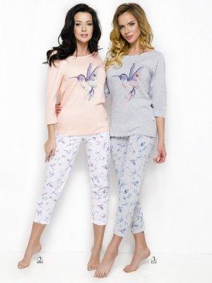 Taro Agnieszka 2234 AW/18 K02 Różowo-biały piżama damska