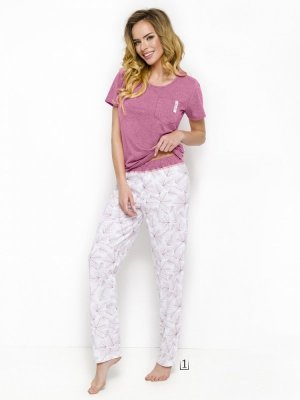 Taro Ola 2231 AW/18 K1 Różowa piżama damska