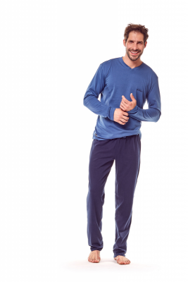 Henderson Golf 36215-59X Niebiesko-granatowa piżama męska