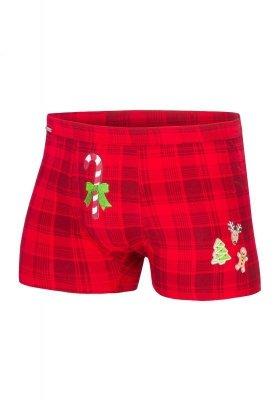 Cornette Candy Cane 017/42 Merry Christmas bokserki
