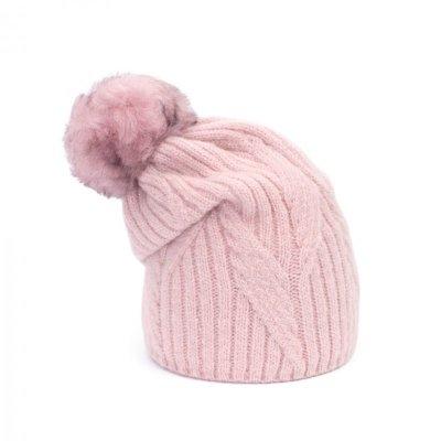 Art of Polo Szron Różowa czapka