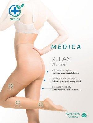 Gabriella Medica Relax 20 den rajstopy