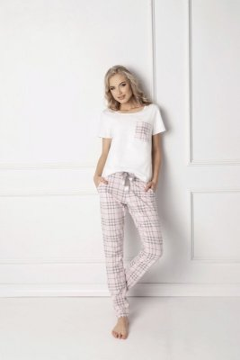 Aruelle Londie Long White piżama damska
