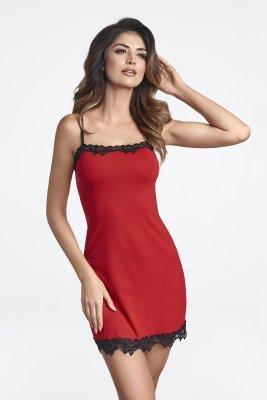 Ewana Sisi 058 Czerwona damska koszula nocna