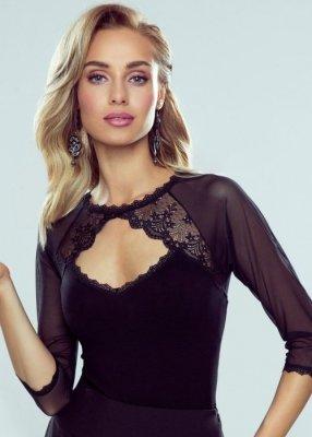 Eldar Aisha Czarna bluzka damska
